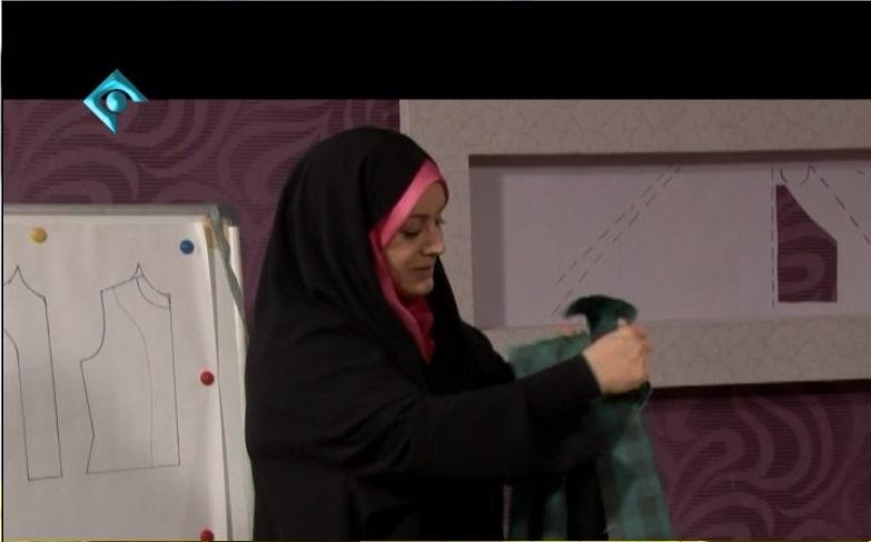 فیلم آموزش خیاطی خانم عمرانی
